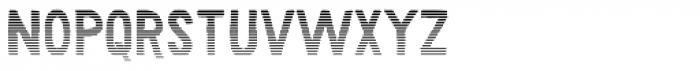 Karisans Stripes A Font LOWERCASE