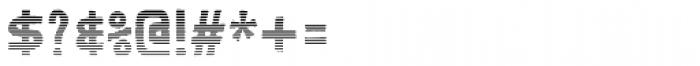 Karisans Stripes B Font OTHER CHARS