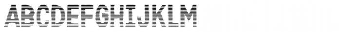 Karisans Stripes B Font UPPERCASE