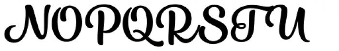 Karlie Regular Font UPPERCASE