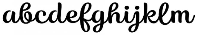 Karlie Regular Font LOWERCASE