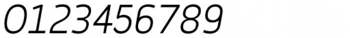 Karlsen Light Italic Font OTHER CHARS