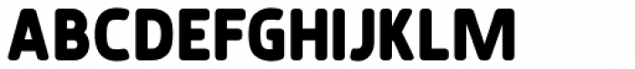 Karlsen Round Extra Bold Font UPPERCASE