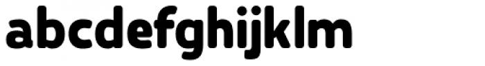 Karlsen Round Extra Bold Font LOWERCASE