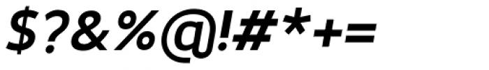 Karlsen Semi Bold Italic Font OTHER CHARS
