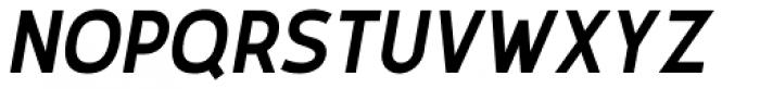 Karlsen Semi Bold Italic Font UPPERCASE
