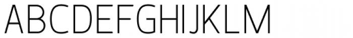 Karlsen Thin Font UPPERCASE
