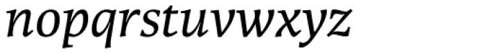 Karmina Italic Font LOWERCASE