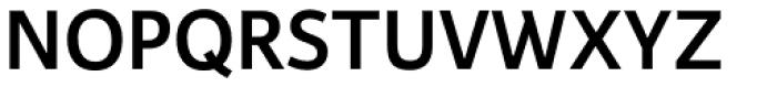Karmina Sans SemiBold Font UPPERCASE