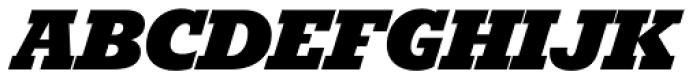 Karnak Pro Black Italic Font UPPERCASE