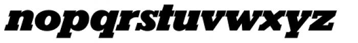 Karnak Pro Black Italic Font LOWERCASE