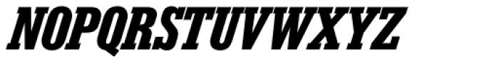 Karnak Pro Cond Black Italic Font UPPERCASE