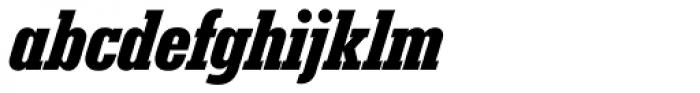 Karnak Pro Cond Black Italic Font LOWERCASE