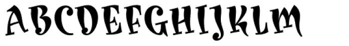 Karoline Bold Font UPPERCASE