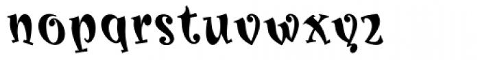 Karoline Bold Font LOWERCASE
