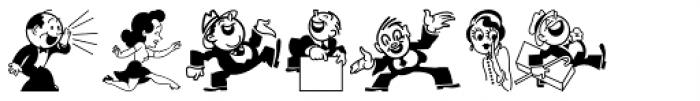 Kartoon Kutz 3 NF Font LOWERCASE