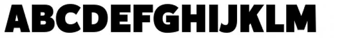Karu Black Font UPPERCASE