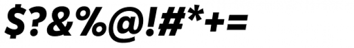 Karu Bold Italic Font OTHER CHARS
