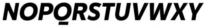 Karu Bold Italic Font UPPERCASE
