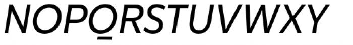 Karu Italic Font UPPERCASE