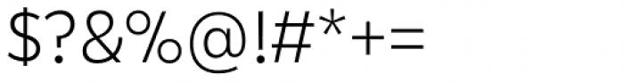 Karu Light Font OTHER CHARS