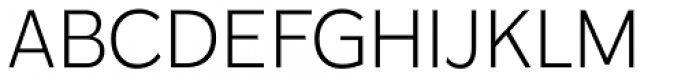 Karu Light Font UPPERCASE