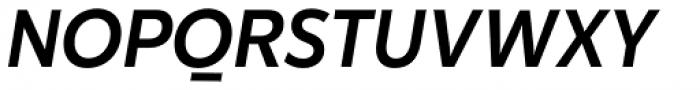 Karu Medium Italic Font UPPERCASE