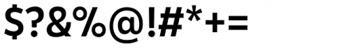 Karu Medium Font OTHER CHARS