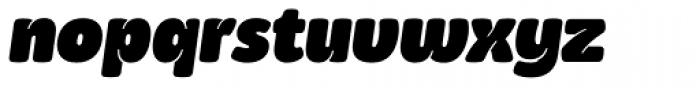 Kasia Black Italic Font LOWERCASE