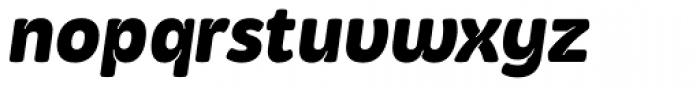 Kasia Bold Italic Font LOWERCASE