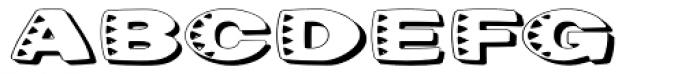 Kassena Shad ExtraWide Font UPPERCASE