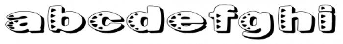 Kassena Shad ExtraWide Font LOWERCASE