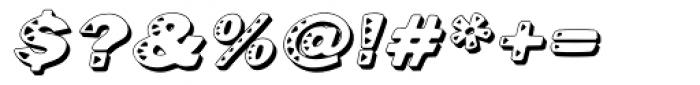 Kassena Shad Med Italic Font OTHER CHARS