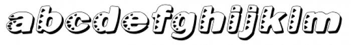 Kassena Shad Med Italic Font LOWERCASE