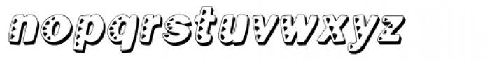 Kassena Shad Narr Italic Font LOWERCASE