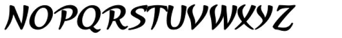 Kasuga Bold Font UPPERCASE
