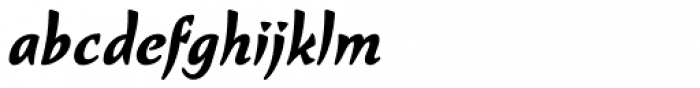 Kasuga Bold Font LOWERCASE