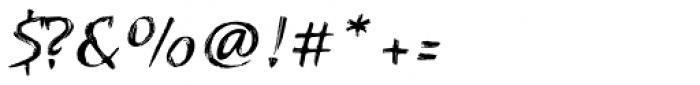 Kasuga Brush One Font OTHER CHARS