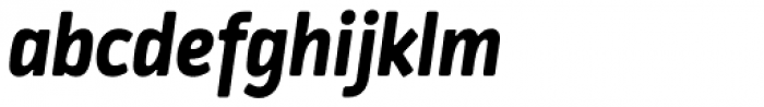 Katarine Std Bold Italic Font LOWERCASE