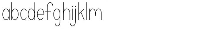 Katelyn Light Font LOWERCASE