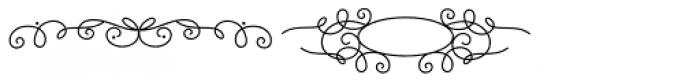 Katelyn Ornament Font UPPERCASE