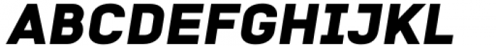 Katerina Alt Black Oblique Font UPPERCASE