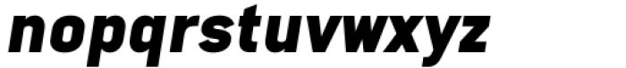 Katerina Alt Black Oblique Font LOWERCASE