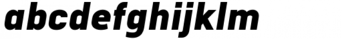 Katerina Black Oblique Font LOWERCASE