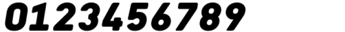 Katerina P Rounded Alt Black Oblique Font OTHER CHARS