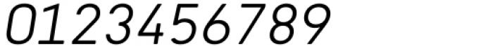 Katerina P Rounded Alt Light Oblique Font OTHER CHARS