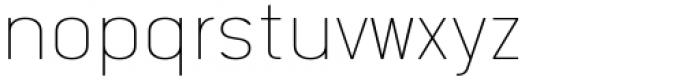 Katerina P Rounded Thin Font LOWERCASE