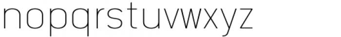 Katerina Thin Font LOWERCASE
