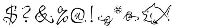 Katfish Font OTHER CHARS