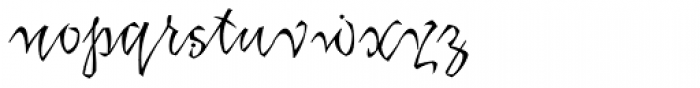 Katfish Font LOWERCASE